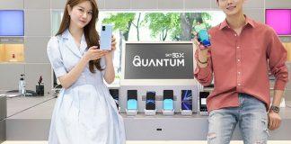 Models show off quantum smartphone