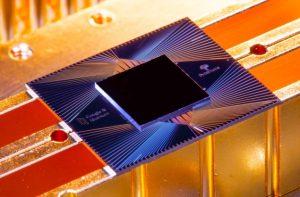 Sycamore quantum computer chip