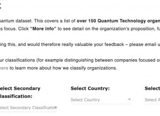 Quantum Dataset