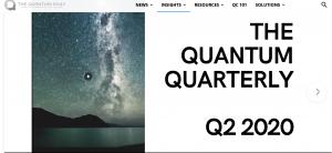 Quantum Quarterly Report