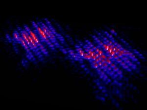 atomic scale image