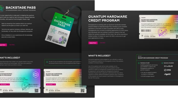 Strangeworks QC Platform Offers Early Access to Beta QC Features and a $5000 Credit for Quantum R+D