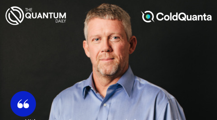 TQD Exclusive: ColdQuanta's New CEO, Scott Faris, is Ready to Guide Company in Exciting, Challenging Quantum Era