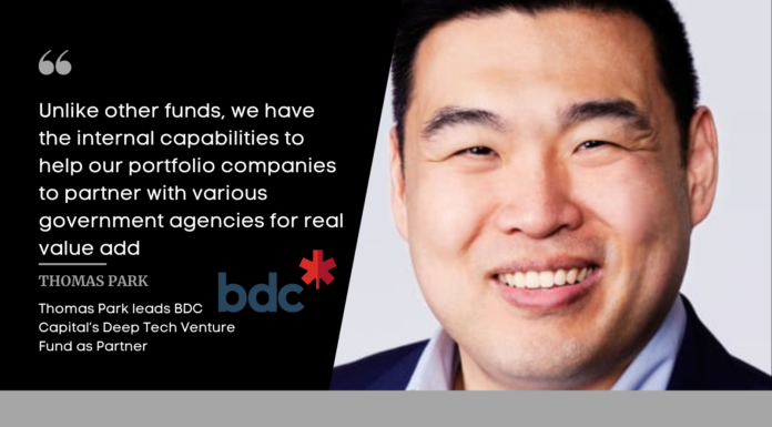 Interview with BDC Capital Partner Thomas Park, on New $200M Canadian Focused Deep Tech Venture Fund