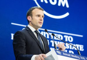 French Head of State Emmanuel Macron